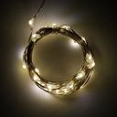 電源付きLEDテープ Fairy Lights - ウォームホワイト(2.5m)