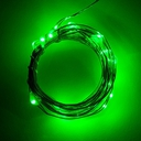 電源付きLEDテープ Fairy Lights - 緑色(2.5m)