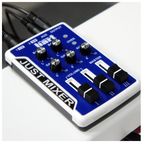 音声ミキサー - Just Mixer Blue