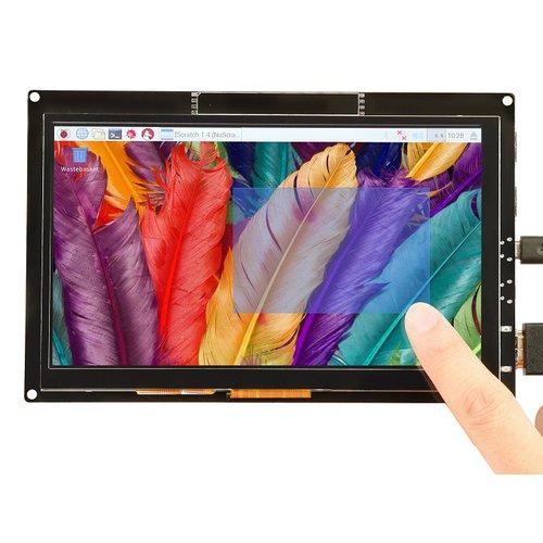 7インチ静電容量式タッチスクリーンディスプレイ(1024 x 600)