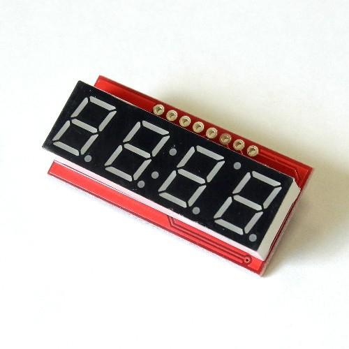 シリアル接続7セグメント4桁LED(赤) --販売終了