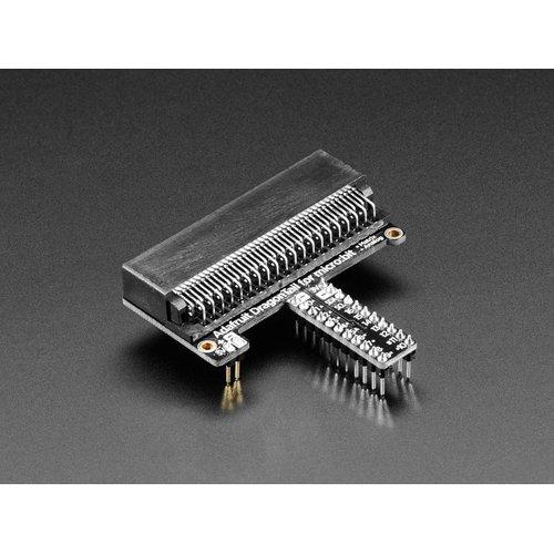 Adafruit DragonTail - micro:bit用エッジコネクタピッチ変換基板