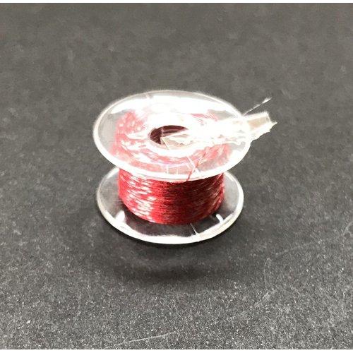 導電糸(赤)