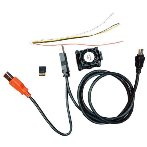 スマートMVカメラ JeVois-A33 スターターキット(黒)