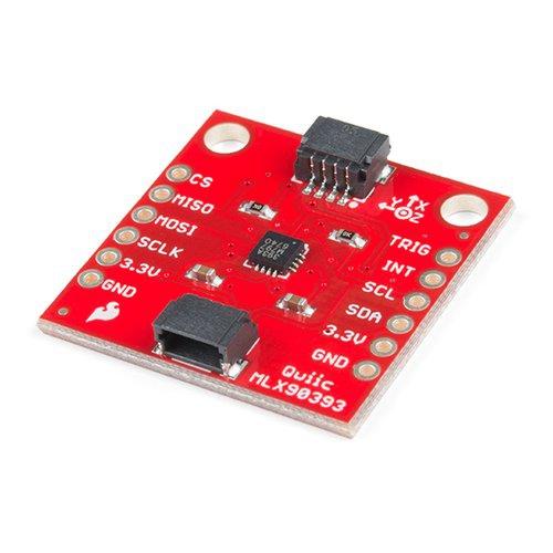 Qwiic - MLX90393搭載 三軸地磁気センサモジュール