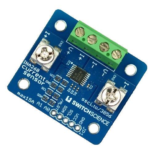 INA260 電流センサ max15A