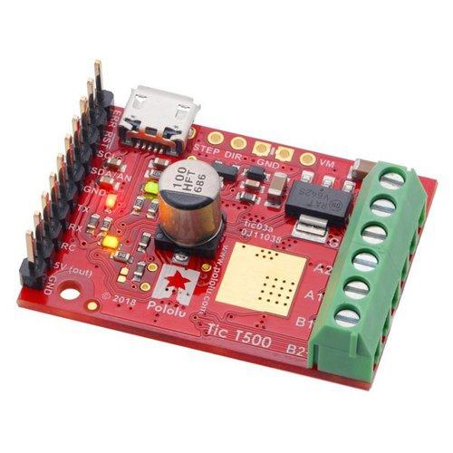 Tic T500 USBマルチインターフェース ステッピングモーターコントローラ