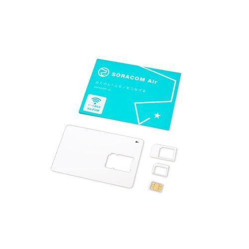 SORACOM Air SIMカード(plan-D/マルチカット・データ通信のみ)スターターガイド付き