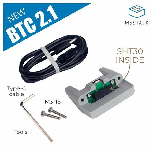 M5Stack用スタンディングベース(Basic、Gray用)