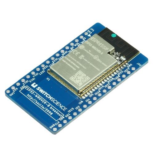 ESP32-WROVER-B ピッチ変換基板