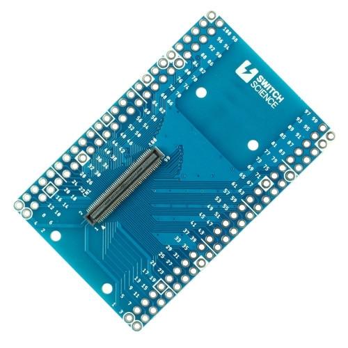 SPRESENSE用 100ピンB2Bコネクタ ピッチ変換基板