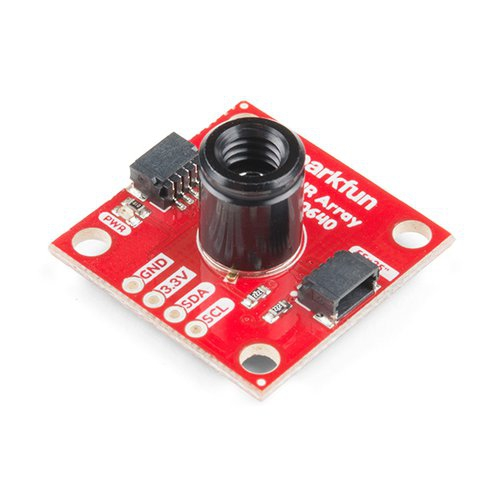 Qwiic - MLX90640搭載 赤外線アレイモジュール(FOV55°)