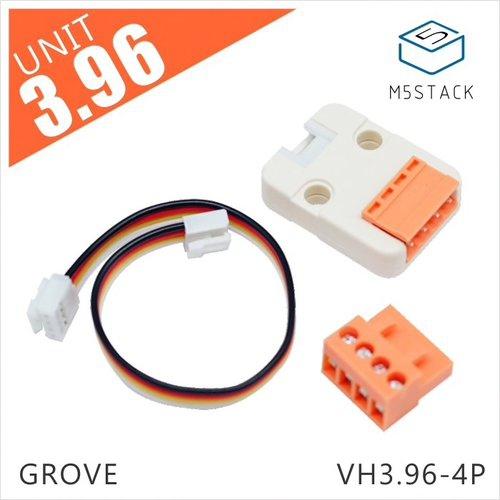 M5Stack用VH3.96 - 4ピンユニット