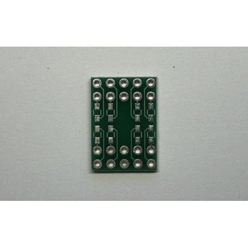 7セグメントLED 簡易化基板(内側)