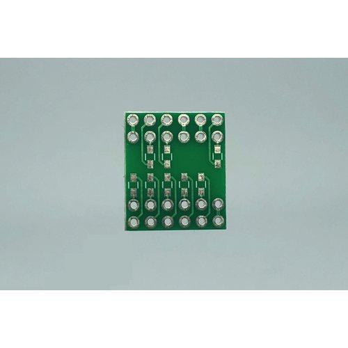 4桁7セグメントLED 簡易化基板(内側)