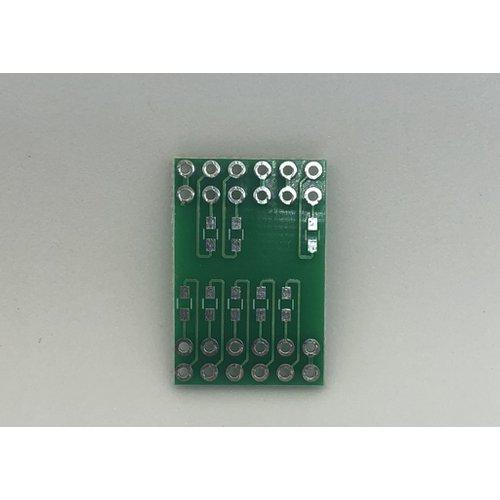 4桁7セグメントLED 簡易化基板(外側)