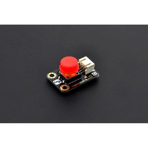《お取り寄せ商品》Gravity: Digital Push Button (Red)-DFRobot