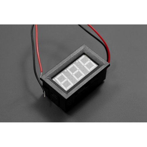 《お取り寄せ商品》LED Voltage Meter (Blue)