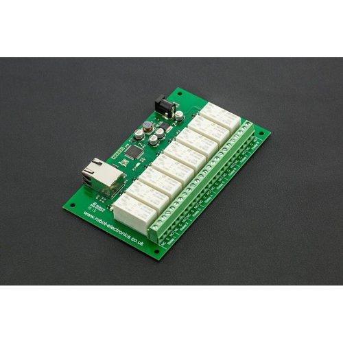 《お取り寄せ商品》Ethernet Controlled 8 Channel Relay 16A