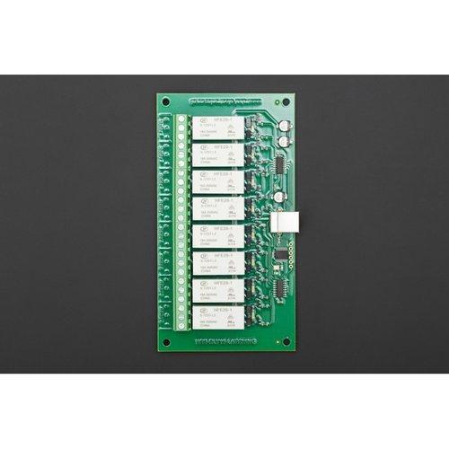 《お取り寄せ商品》USB-RLY16L(16 Low Power 8 channel relay outputs at 16A)