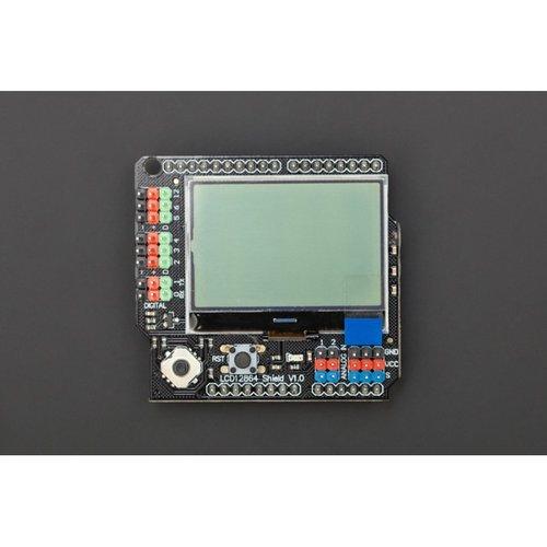 《お取り寄せ商品》Gravity: LCD12864 Shield for Arduino