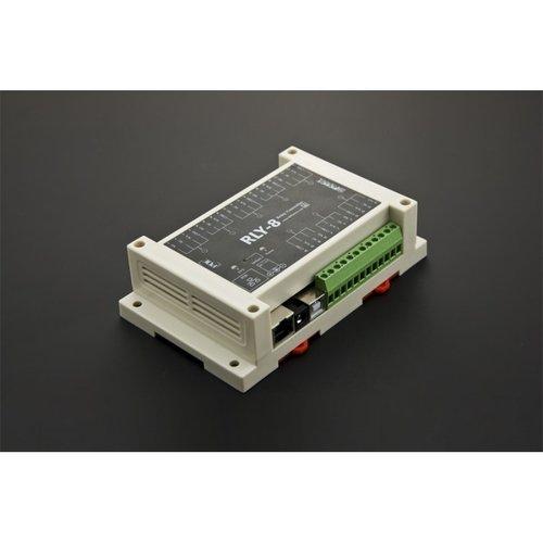 《お取り寄せ商品》8 Channel Ethernet Relay Controller (Support PoE and USB)