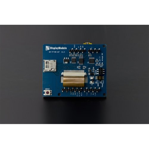 """《お取り寄せ商品》3.5"""" TFT Resistive Touch Shield with 4MB Flash for Arduino and mbed"""