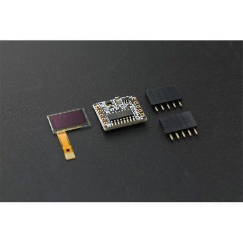 """《お取り寄せ商品》SPI/I2C Monochrome 60x32 0.5"""" OLED Display for Arduino"""