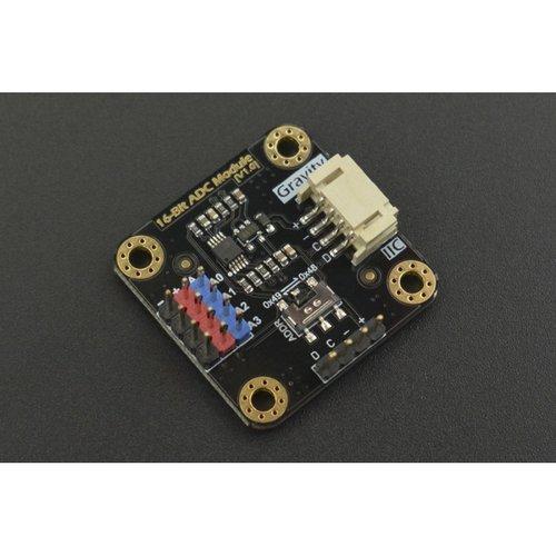《お取り寄せ商品》Gravity: I2C ADS1115 16-Bit ADC Module (Arduino & Raspberry Pi Compatible)
