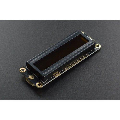 《お取り寄せ商品》Gravity: I2C 16x2 Arduino LCD with RGB Font Display (Black)