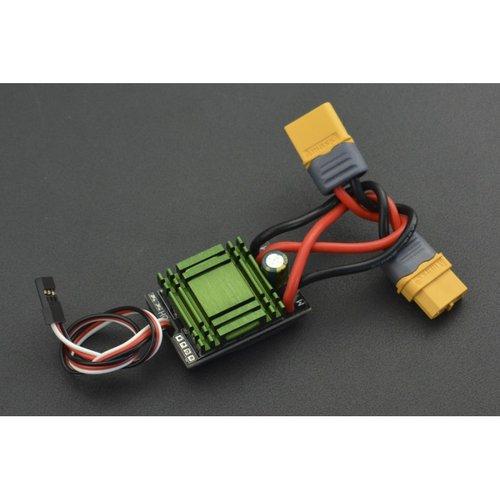 《お取り寄せ商品》20A Bidirectional Brushed ESC Speed Controller without Brake (XT60 Connector)