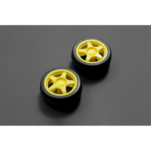 《お取り寄せ商品》Rubber Wheel for A4WD and A2WD (Pair)