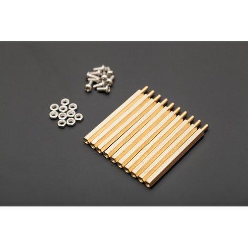 《お取り寄せ商品》10 sets M3 * 50 hexagonal standoffs mounting kit