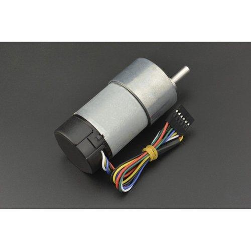 《お取り寄せ商品》Metal DC Geared Motor w/Encoder - 12V 251RPM 18Kg.cm