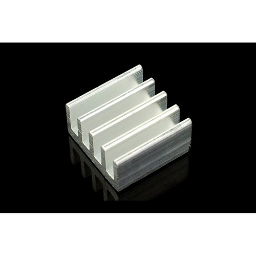 《お取り寄せ商品》AL Heat Sink (With adhesive tape) - 13*13*7mm