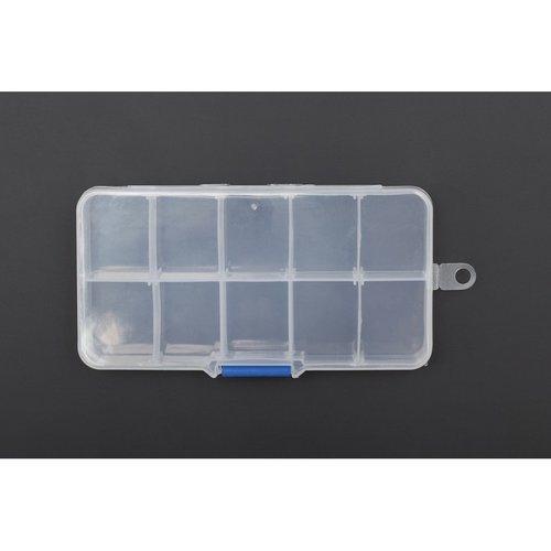 《お取り寄せ商品》Adjustable Compartment Parts Box - 10 compartments