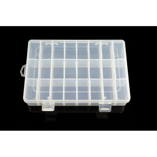 《お取り寄せ商品》Adjustable Compartment Parts Box - 24 compartments