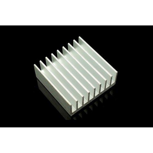 《お取り寄せ商品》AL Heat Sink (With adhesive tape) - 30*30*10mm