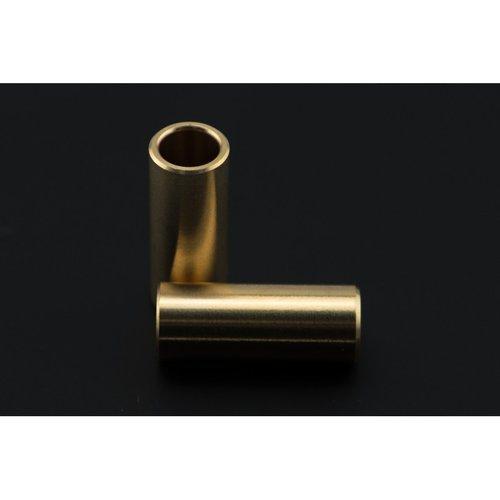 《お取り寄せ商品》8mm brass sliders (2 pcs)