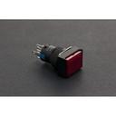 《お取り寄せ商品》Self Locking Lamp Press Button- Red