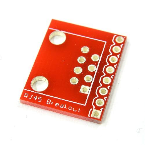 RJ45ピッチ変換基板