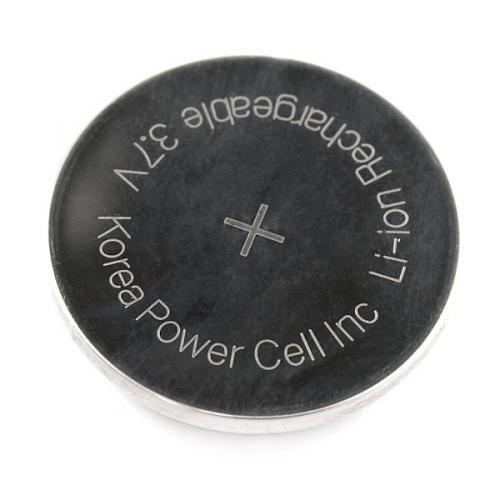 コイン型リチウムイオンポリマー電池--販売終了