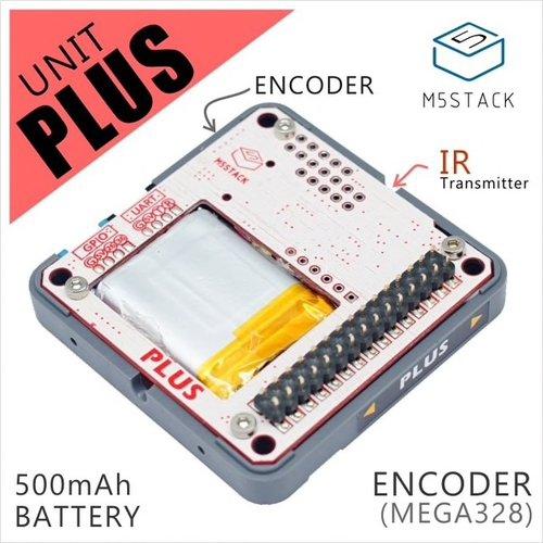 M5Stack PLUSエンコーダモジュール