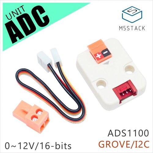 M5Stack用ADCユニット