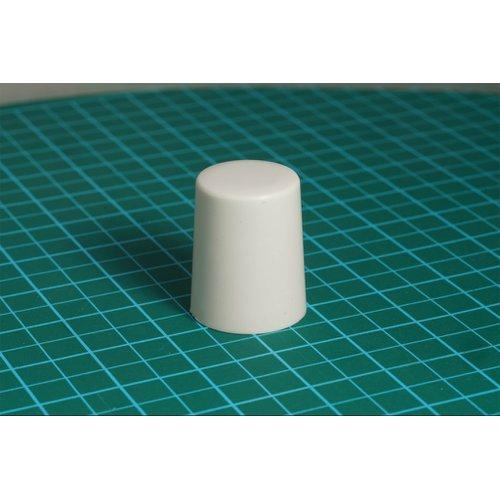 ニブルス・プリン15(白) ロータリーエンコーダー用つまみ
