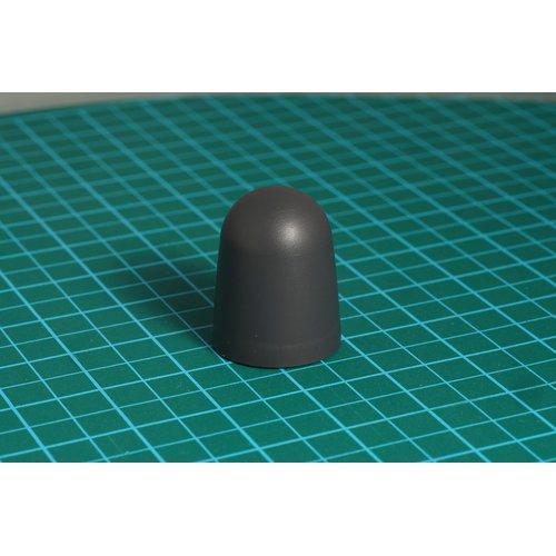 ニブルス・ドーム15(ダークグレー) ロータリーエンコーダー用つまみ