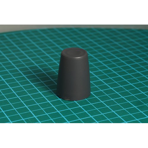 ニブルス・リップル15(ダークグレー) ロータリーエンコーダー用つまみ