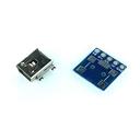 USB mini B ピッチ変換基板 コンパクト(2組セット)