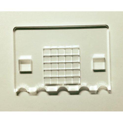 micro:bit用遮光パネル板(アクリル遮光)