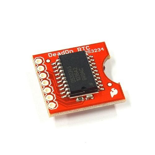 DS3234搭載のリアルタイムクロック・モジュール--在庫限り